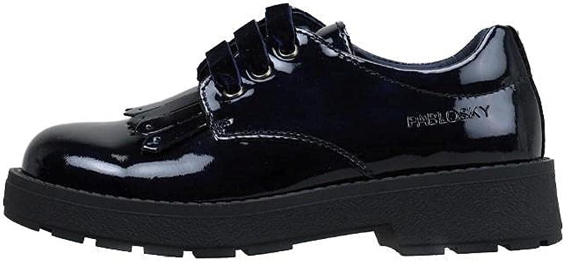 Pablosky 345929, Zapatos de Vestir par Uniforme Niñas