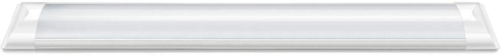 Luminária De Sobrepor Led Slim 18W 6500K Bivolt Branca Fria Elgin