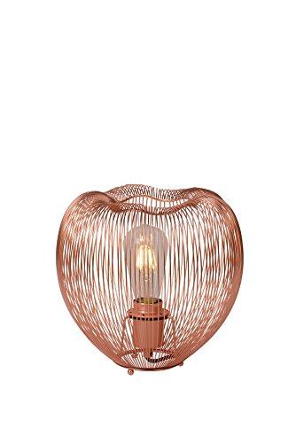 Lucide WIRIO - Lampe De Table - Ø 26 cm - Cuivre