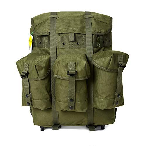 Akmax.cn Überschüssiger mittlerer Alice Pack Army Survival Combat Rucksack Alice Rucksack Bergen Olive Drab…