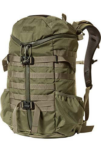 MYSTERY RANCH 2 Day Assault Backpack - Tactical Daypack Molle Hiking Packs, Forest, LG/XL