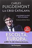 La crisi catalana: Una oportunitat per a Europa (Divulgació)