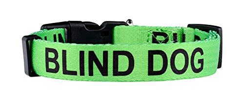 Native Pup Blind Dog Collar| Limited Sight Alert (Medium)