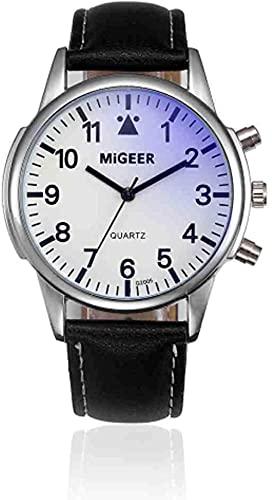 JZDH Mano Reloj Reloj de Pulsera Reloj de Cuero Hombres Deportes Militares de Cuarzo Relojes de Pulsera de Moda de Cristal Azul Reloj Reloj Reloj Reloj Masculino Reloj Relojes Decorativos Casuales