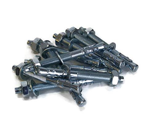 25 Stück LSB M16 16x175mm Schwerlastdübel Schwerlastanker Bolzenanker verzinkt Stalco