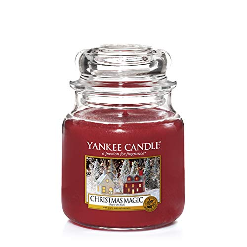 Yankee Candle Candela Giara Media, Christmas Magic, 1