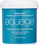 AQUAGE SeaExtend Volumizing Conditioner, 16 Oz, Luxurious Conditioner that Prevents Haircolor Fade and Thermal Heat Styling, Adds Volume, Shine, and Fullness Without Frizz
