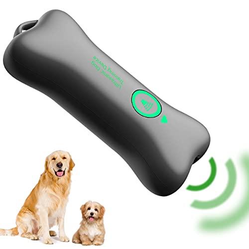 Aytop Antiabbaio per Cani, Pratico Dispositivo ad ultrasuoni per l'addestramento del Cane Dispositivo di Controllo dell'abbaio a Forma di Osso Carino Deterrente per l'abbaiare del Cane Strumento