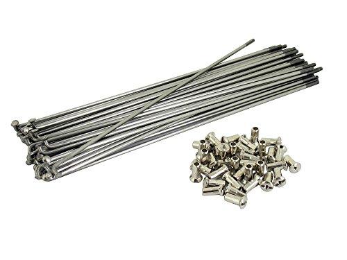 Fée Kit : rayons avec mamelon – 210 mm M3 en acier inoxydable – pour SR2