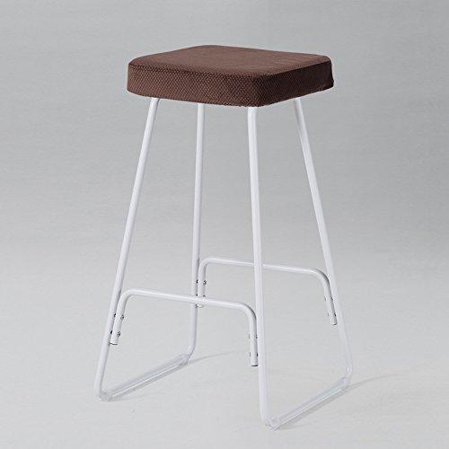 LightSeiEU/Tabouret haut nordique/chaise de barre de fer/tabouret haut simple moderne/chaise de barre de maison en bois plein / (Couleur : B)