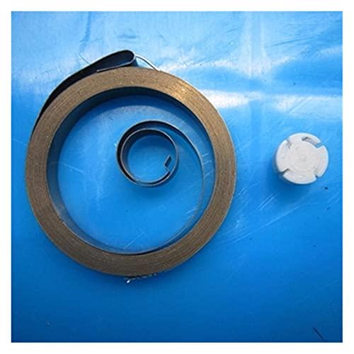Rmage Myouzhen-Resortes de compresión Primavera Espiral de Bobina Plana para el cinturón de Seguridad del Coche, 0.2 * 10 * 1500mm, Tipo-S31, Larga Vida útil