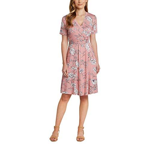wrap dresses Matty M Ladies' Faux Wrap Dress