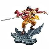 Banpresto One Piece Manhood Normal Color Gol D. Roger Gold Roger