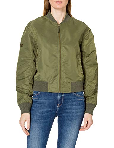 Superdry Bomber MA1, Trekking Olive, M para Mujer