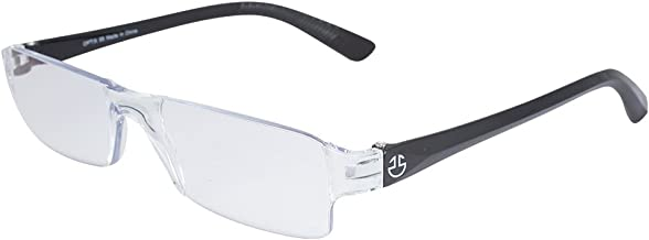 Rimless Computer Reading Glasses- With Anti Reflective and Anti-Glare Coating