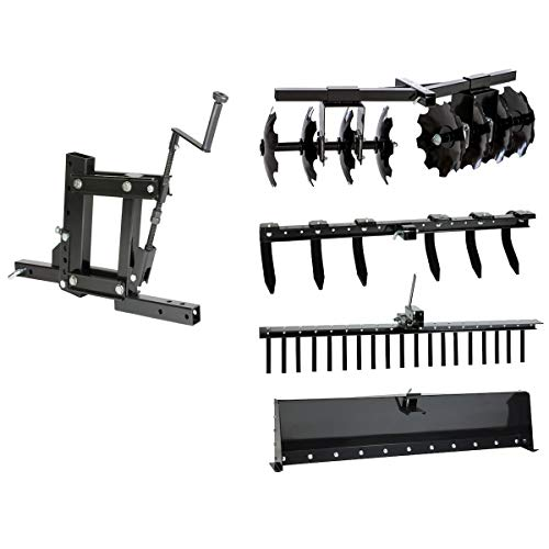 MotoAlliance Impact Implements Pro 5-Piece Agricultural Kit System for ATV, UTV, & Tractors