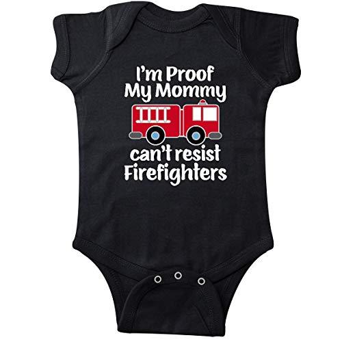inktastic Firefighter Daddy Baby Gift Infant Creeper Newborn Black 3a74b