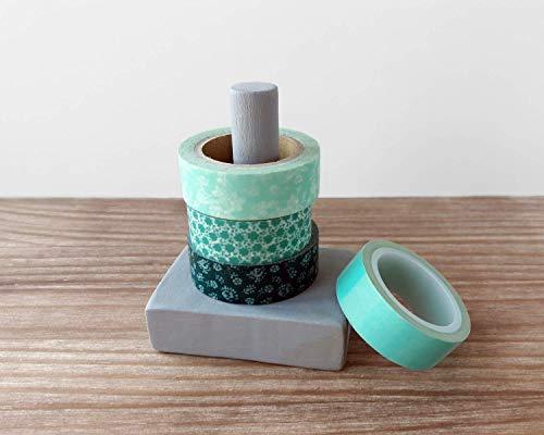 Dispensador de washi tapes y cintas decorativas - Suministros para scrapbooking - Herramientas para bujo