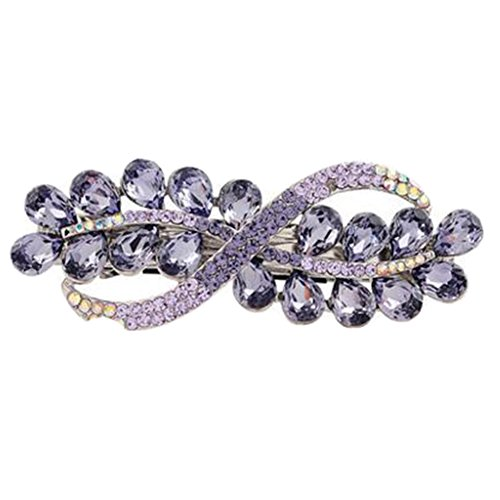 Accessoire cheveux pour dames Bowknot Hair Clips Epingle à cheveux Fermeture élégante des cheveux NO.12