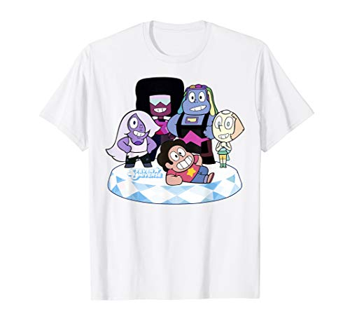 CN Steven Universe Chibi Crystal Gems T-Shirt