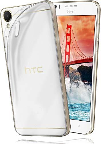 moex AERO Hülle Transparente Handyhülle kompatibel mit HTC Desire 10 Lifestyle   Hülle Silikon Dünn - Handy Schutzhülle, Durchsichtig Klar