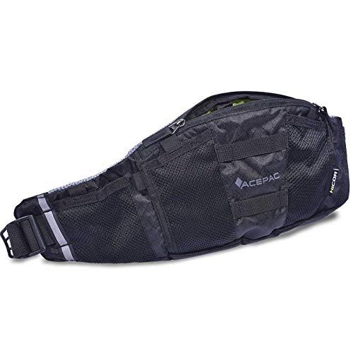 ACEPAC Lumbar Pack Mochila Unisex Adulto Negro FR: M (talla fabricante: M)