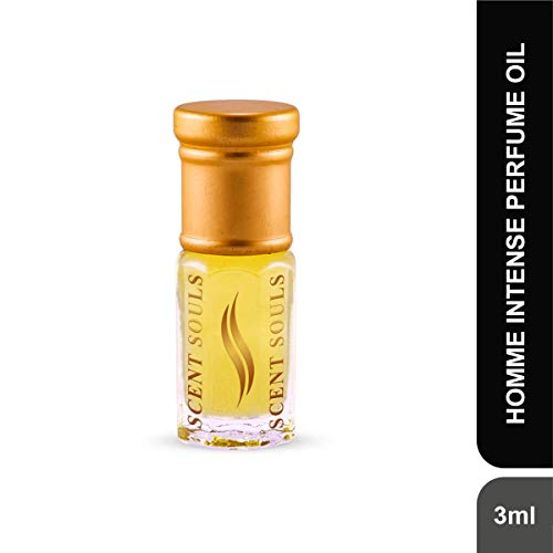 Scent Souls Homme Intense Long Lasting Attar Fragrance Perfume Oil For Men- 3 ml