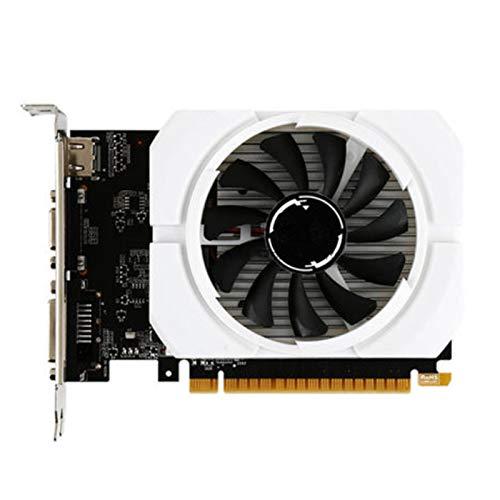 RTYU Tarjeta De Video Fit For MSI GeForce GT 710 2G DDR3 64 bits PCI Express 2. 0 Soporte DirectX 12, OpenGL 4. 5 Ventilador...