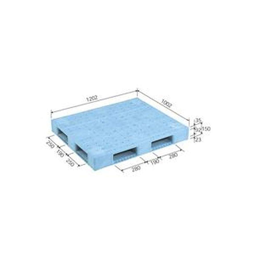 大型トラックマットレス落とし穴三甲 - サンコー - / プラスチックパレット/プラパレ / - 片面使用型 - / D4-1012F / ライトブルー - 青 - - -