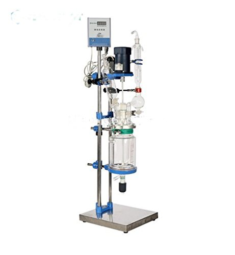 Check Out This Kohstar 1L(2L\3L\5L\8L) Jacketed Glass Chemical Reactor ,Glass Reactor