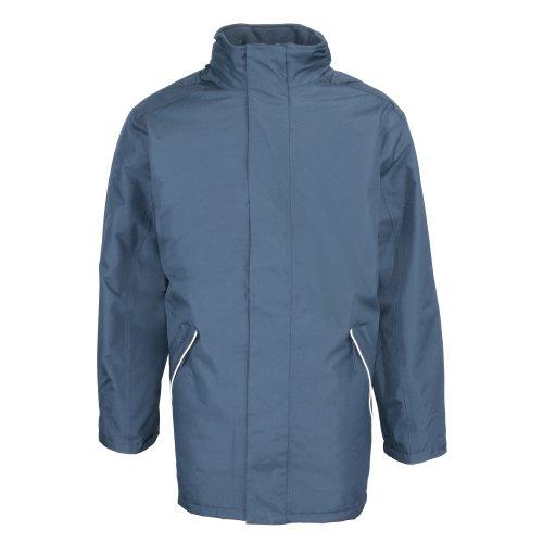 RTY Workwear - Manteau de Travail imperméable et Coupe-Vent - Homme (2XL) (Bleu Marine)