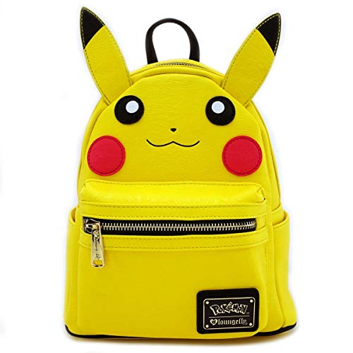 Loungefly Pikachu Mini Backpack Yellow