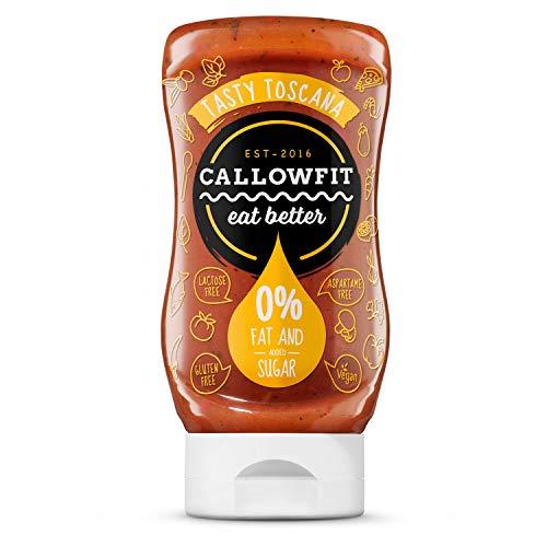 Callowfit Low Carb Sauce 0% Fat & Zucker - Diätsoße (Tasty Toscana)
