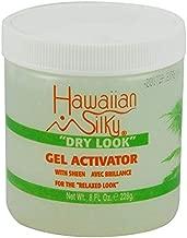 Hawaiian Silky Hawaiian silky dry look gel activator 8 fluid ounce, Green, 8 Fl Ounce