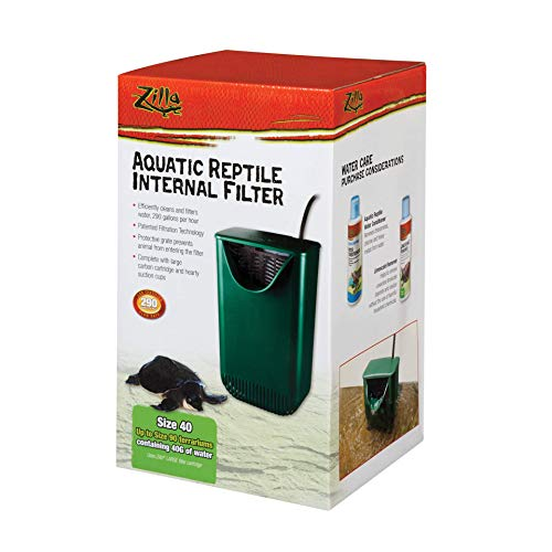 Zilla Internal Filter for Aquactic Reptiles, 40 Gals