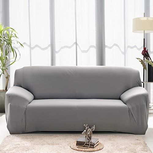 Special&Kind Unvergleichlicher hochwertiger wasserabweisender Sofabezug, hoher Stretch, Couchbezug, superweicher Stoff, Couch-Bezug (3 GY)