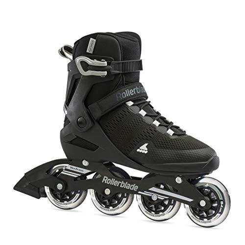 Rollerblade Herren Sirio 84 Inline-Skate, Nero/Bianco, 42.5 EU