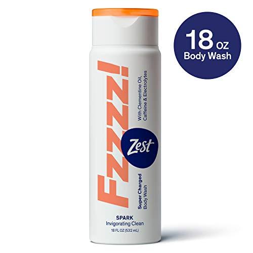 Zest Fzzzz! Spark Body Wash, 18 Oz (1 Pack), 18 Fl Oz