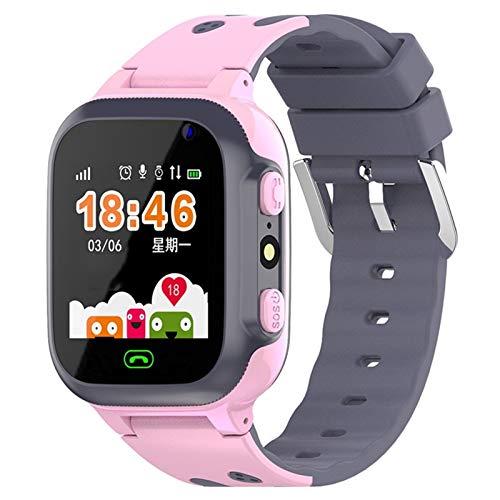 Z1 Smart Watch for Kinder LBS Tracker SOS-Ruf-verlorene Baby-Uhr-Kind-Telefon-Uhren for Jungen Mädchen pk Q50 Q60 Q528 Q90 Q100 (Color : Kids Smartwatch Blue, Size : Russian)