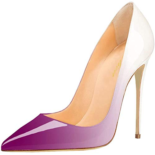 Lutalica W Omen's Classic - Zapatos de tacón alto con punta de...