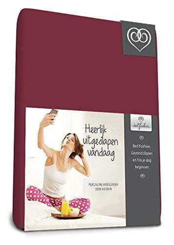 Bed-Fashion sábana Bajera Ajustable, algodón, Chocolate, Single, 90x 220cm