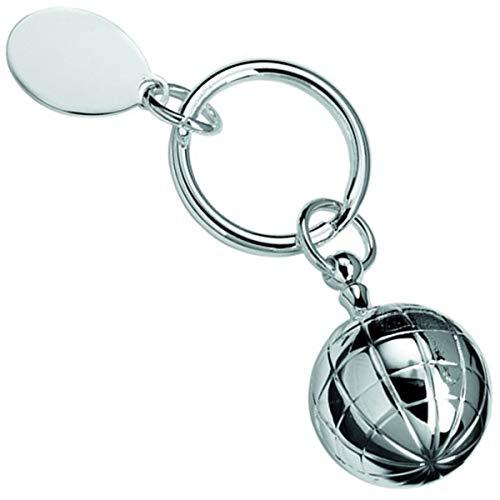 SILBERKANNE Schlüsselanhänger mit Pillendose Fussball Silber Plated versilbert in Premium Verarbeitung