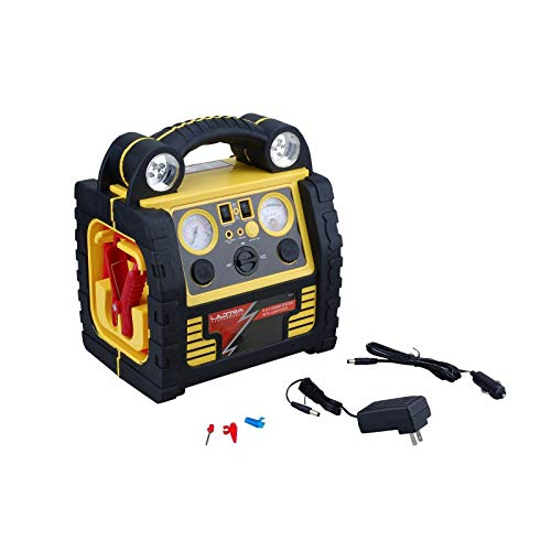 Find Discount Ultra Performance 5 in 1 Power Station Jump Start, Compressor, USB, Flashlight, 39013