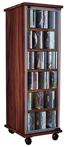 VCM Valenza-Torre para CD/DVD, para 300 CDs, Color Vetas de
