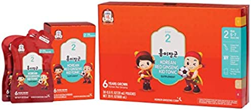 KGC Cheong Kwan Jang [Kids Tonic] Organic Korean Red Ginseng Tonic for Kids Age 5 To 7, Health and Immune System Enhancement - Step 2