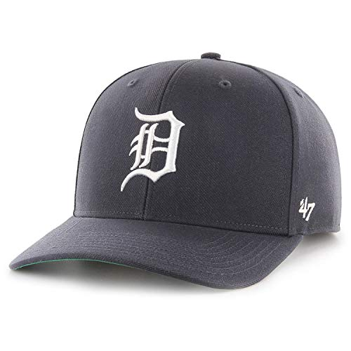 47 Brand Detroit Tigers Cold Zone MVP DP Adjustable MLB Cap Navy, One Size