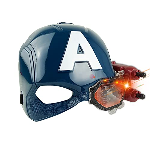 PRETAY Superhéroe máscara de Halloween Vengadores Capitán América Máscaras de Disfraces Niños Máscaras de Fiesta