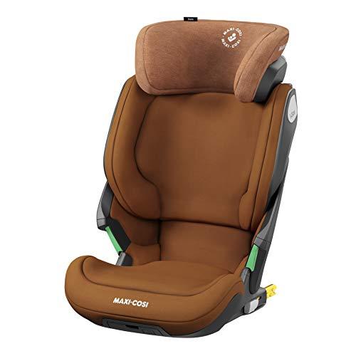 Maxi-Cosi Kore i-Size - Seggiolino auto per bambini, installazione ISOFIX, 3,5-12 anni, 100-150 cm, colore: cognac