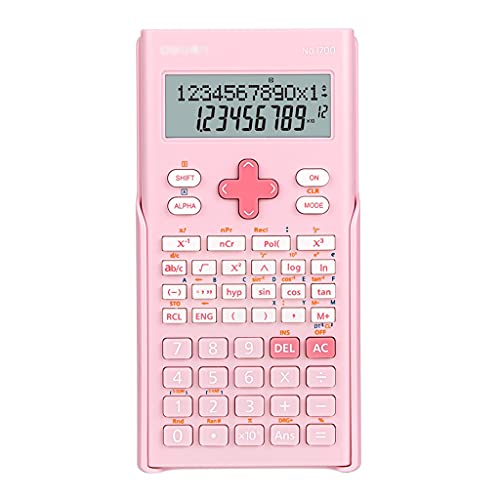 HMEI Calculadora Científica 12+Pantalla De 2 Líneas 240...