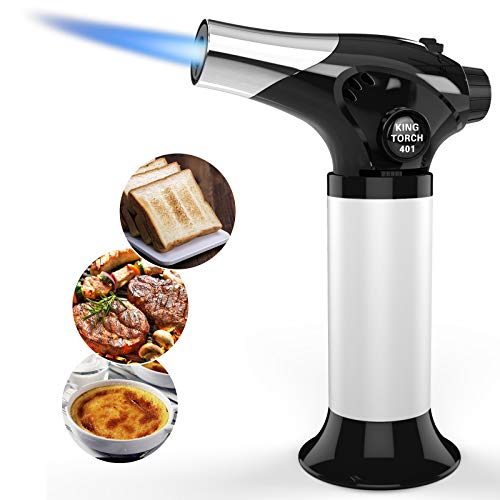 Culinary Butane Torch, Semlos Kitchen Torch Refillable Blow Torch Lighter with Safety...
